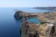 Lindos - St. Paul's bay